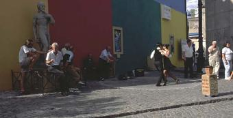 Tango na ulicach Buenos Aires